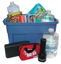 Exactly Where is Your Natural Disaster Preparedness Kit Located