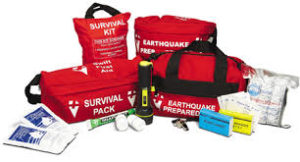 earthquake preparedness kits