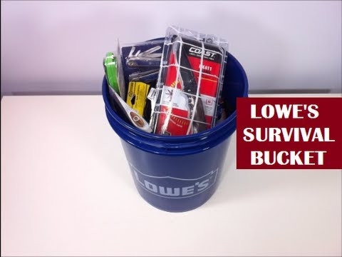 Lowe's Survival Kit – For Real? YES INDEED! | Bug Out Bucket?
