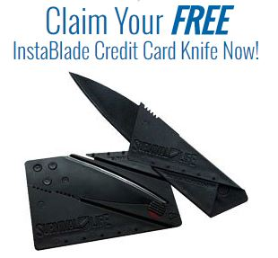 Click Here for Free Limited Offer Quality Credit Card Knife