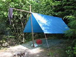 tarpaulin emergency shelter